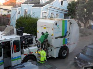 Collecte des déchets à San Francisco