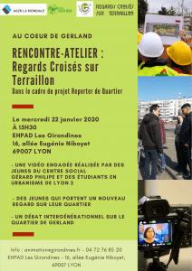 Reporters du Terraillon... intergénérationnels ! @ EHPAD Les Girondines
